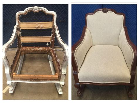 Chair Upholstery Repair by Furniture Refinishing Antique Restoration Furniture
