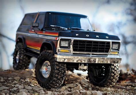Traxxas Ford Bronco by Traxxas Trx 4 Ford Bronco Scale Trail Crawler Rtr W O
