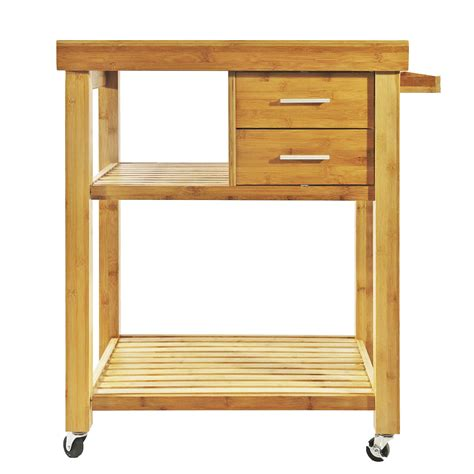 rolling kitchen cabinet for sale rolling bamboo kitchen island cart trolley cabinet w