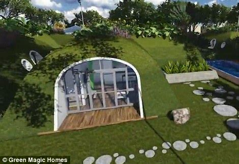 Green Magic Homes Price by Hobbit Holes By Green Magic Homes Are Ready Made And Come