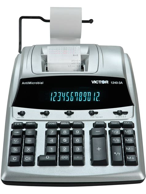 victor calculator    digit heavy duty commercial
