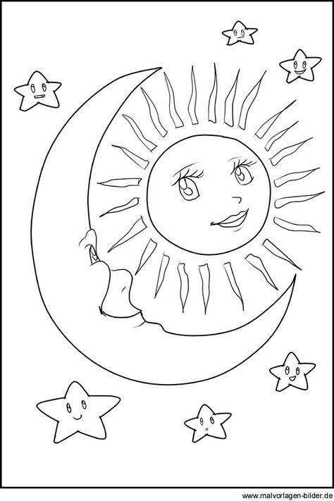 15 Sonne,Mond und Sterne-Ideen | sonne mond und sterne