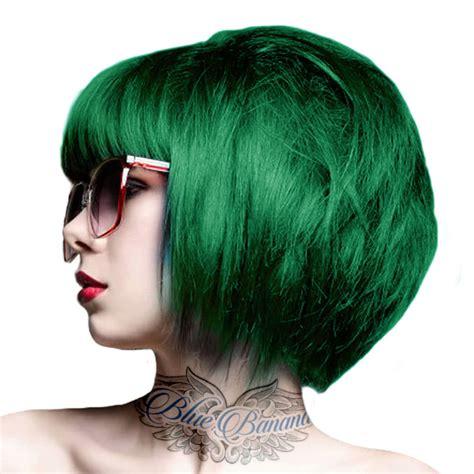 Crazy Color Semi Permanent Emerald Green Hair Dye 100ml