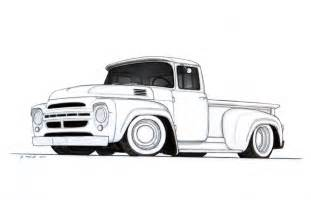 Ford Pickup Truck Drawings