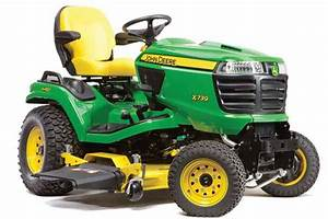 John Deere X700 Signature Series Model Comparison