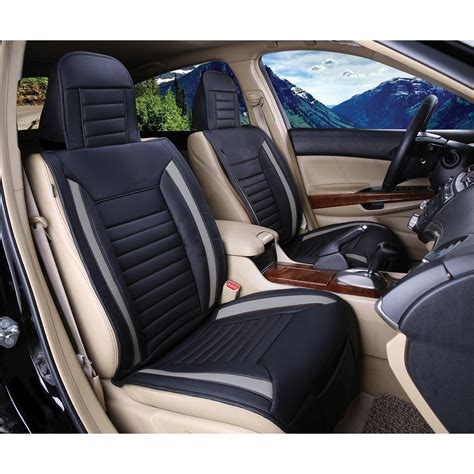 luxury series grey car front seat cover auto seat covers