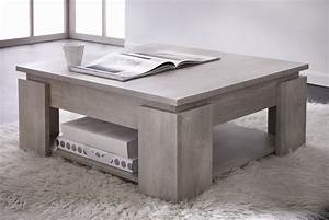 table basse contemporaine chene champagne guerda tables With delightful meuble bar design contemporain 9 meuble table basse contemporaine couleur chne gris