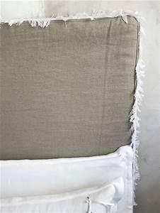 Tete De Lit Lin : les 17 meilleures images du tableau t tes de lit sur mesure en lin lav et lin froiss sur ~ Melissatoandfro.com Idées de Décoration