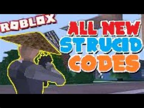 strucid codes  youtube