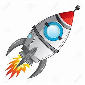 Spaceship clipart missile - Pencil and in color spaceship ...