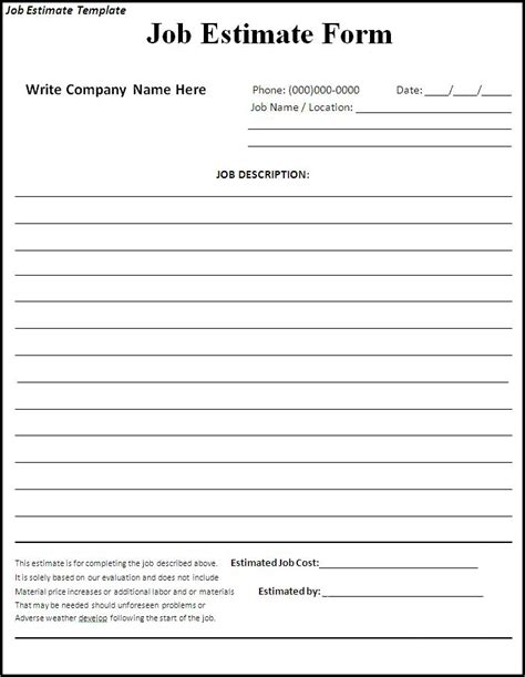 painting contracts templates free printable time card template quotes