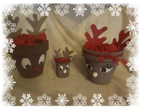 a fleur de pot rennes pot de fleur renne de noel activit 233 manuelle et bricolage pour enfant renne