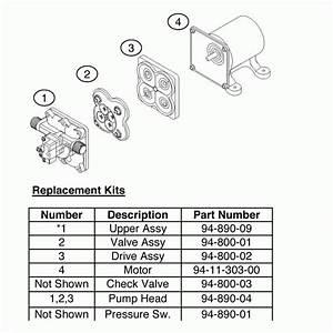 35 Shurflo Pump Parts Diagram