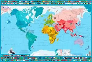 Carte Du Monde à Gratter Maison Du Monde : sous main ma carte du monde michelin decitre 9782067215993 livre ~ Teatrodelosmanantiales.com Idées de Décoration