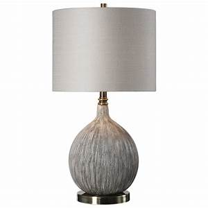 uttermost lamps 27715 1 hedera textured ivory table lamp With table lamp repairs melbourne