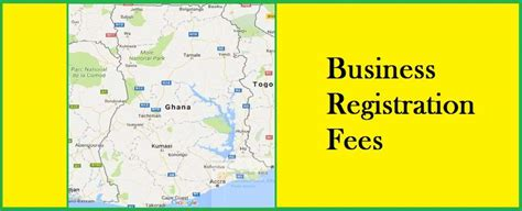 company registration form ghana company registration fees in ghana fee cost charge