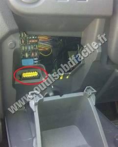 Prise Obd2 Dans Les Renault Lodgy  2012 -