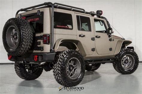 sema jeep for sale 2015 jeep wrangler rubicon sema for sale