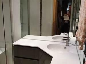 stunning meuble salle de bain d angle photos amazing With placard d angle salle de bain