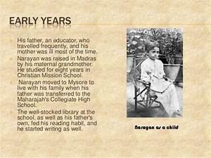 R.K.Narayan's life span journey as a writer