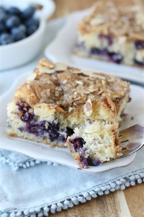 Cinnamon streusel coffee cake and coconut chocolate chip coffee cake are two of our. Blueberry Coffee Cake - Glorious Treats