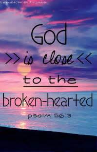 God Is Always Close to the Brokenhearted