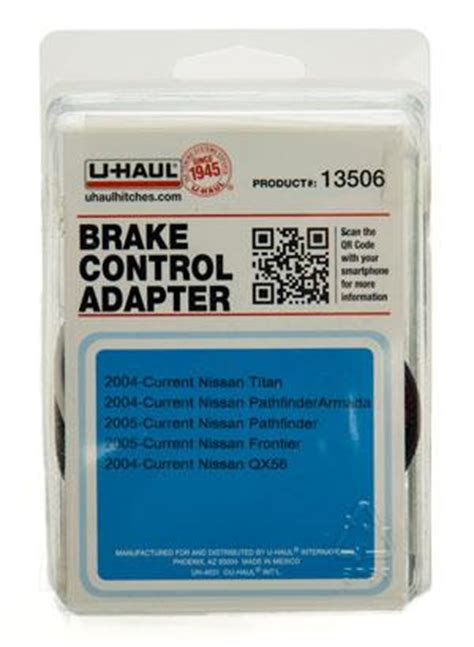 Uhaul Moving Supplies Brake Control Adapter 13506