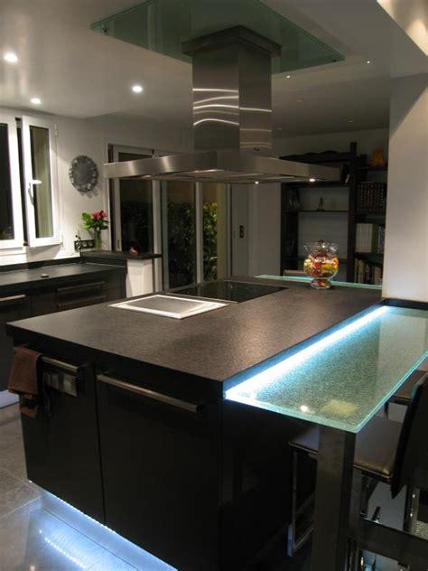 igena cuisine skconcept réalisation d 39 une cuisine ouverte agencé en l avec îlot central bar finition wengé