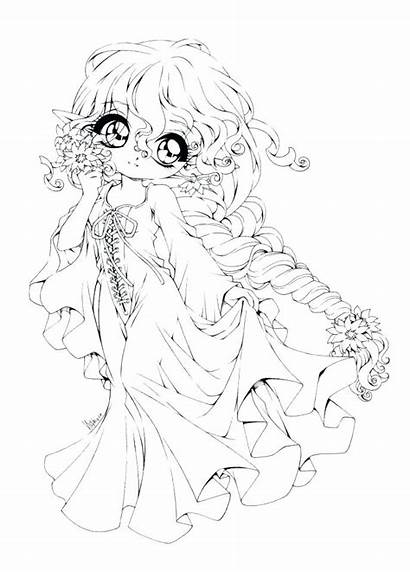Coloring Pages Anime Mermaid Adult Getcolorings Printable