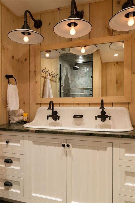 Rustic farmhouse style bathroom design ideas 31   AmzHouse.com