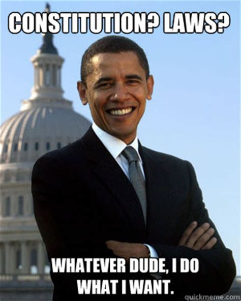 Constitution Memes - constitution laws whatever dude i do what i want obama is a theif quickmeme
