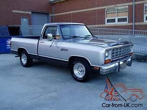 1985 Dodge Other Pickups Ram D150