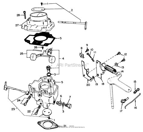 Onan Carb Diagram by Toro 30560 52 Quot Rear Discharge Mower 1983 Sn 30001 39999