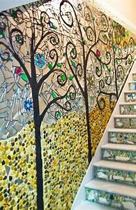 stone mosaic wall art mozaiek pinterest With mosaic wall art