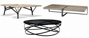 Table Basse Noire Design : une table basse de designer joli place ~ Teatrodelosmanantiales.com Idées de Décoration