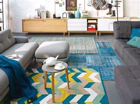 relooking deco changer de sol avec des tapis cote maison