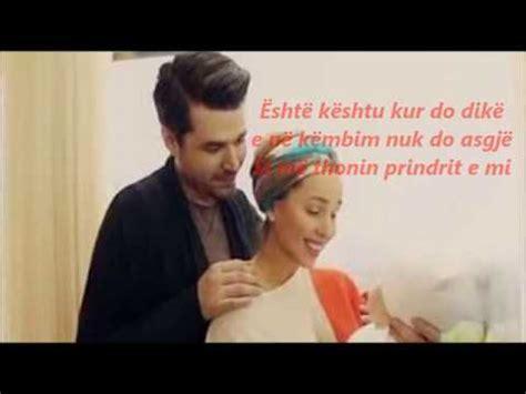 Alban Skenderaj Ft Miriam Cani Dhurata ( Lyrics) Youtube