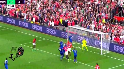 اهداف مباراة مانشستر يونايتد وليستر ستي 41 كاملة