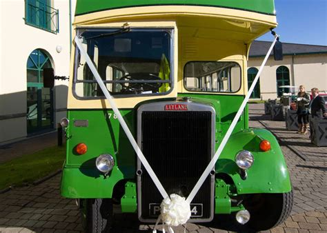 Vintage Bus Hire   Wedding Bus & Photos   Special Occasions   Double Decker   Newport   Cardiff