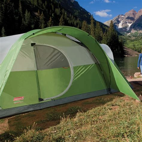 tent with hinged door cing coleman montana 8 tent review