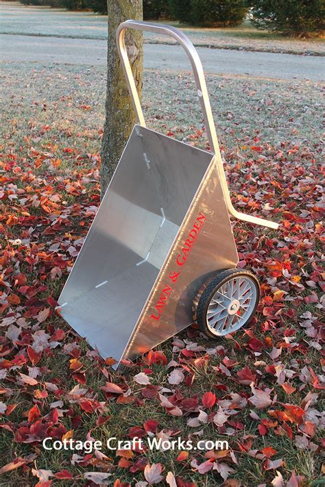 2 wheel garden cart vintage two wheel metal lawn and garden cart 3824