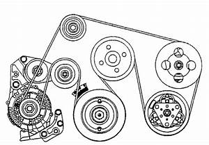 2007 Honda Civic Serpentine Belt Diagram