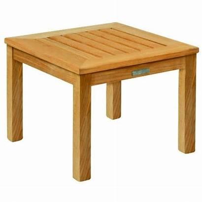 Side Square Authenteak Furniture Teak