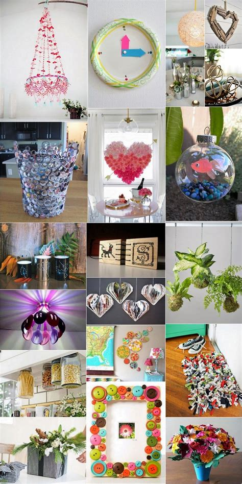 creative handmade crafts ideas  home decor table