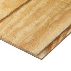 plytanium plywood siding panel t1 11 8 in oc common 19 32 in x 4 ft x 8 ft actual 0 563
