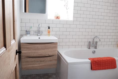 Spa Style Bathroom Vanity by Small Bathroom Renovation To Scandi Spa Style Chic The