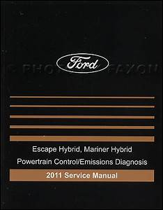 2011 Ford Escape Hybrid Mercury Mariner Hybrid Wiring
