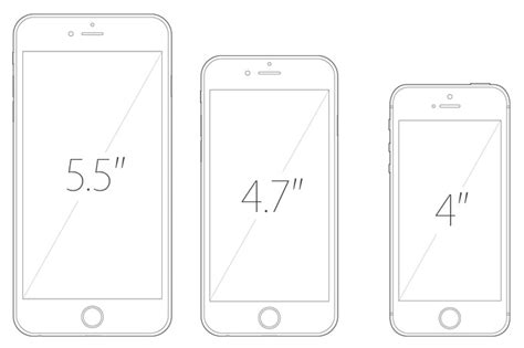 iphone 4 screen size iphone 6s iphone 6s plus and 4 inch iphone 6c rumored for