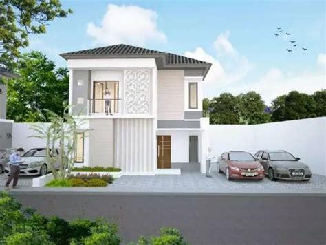 contoh rumah minimalis  lantai terbaru