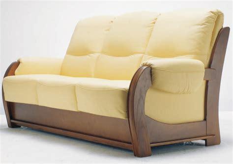 canapé bois et tissu canape en bois et tissu myqto com
